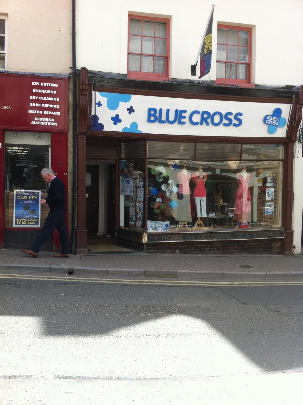 Blue Cross Monmouth Charity Shop