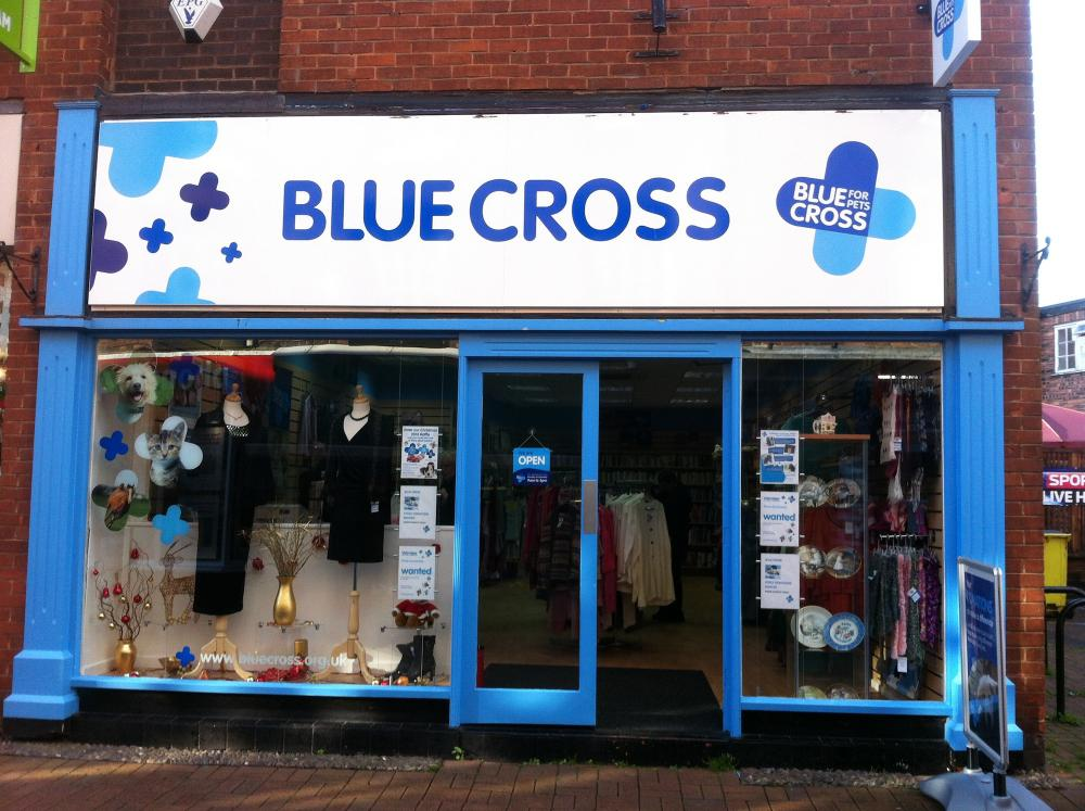 Blue Cross Nantwich Charity Shop