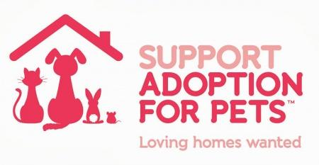 Support Adoption for Pets logo