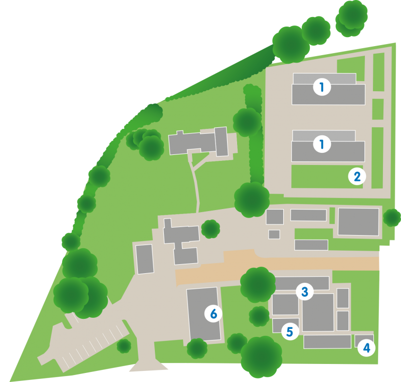 Herts site map